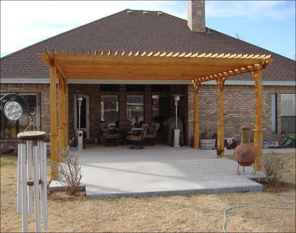 Customer S Photo 16 X 20 Treated Pine 2 Beam Pergola