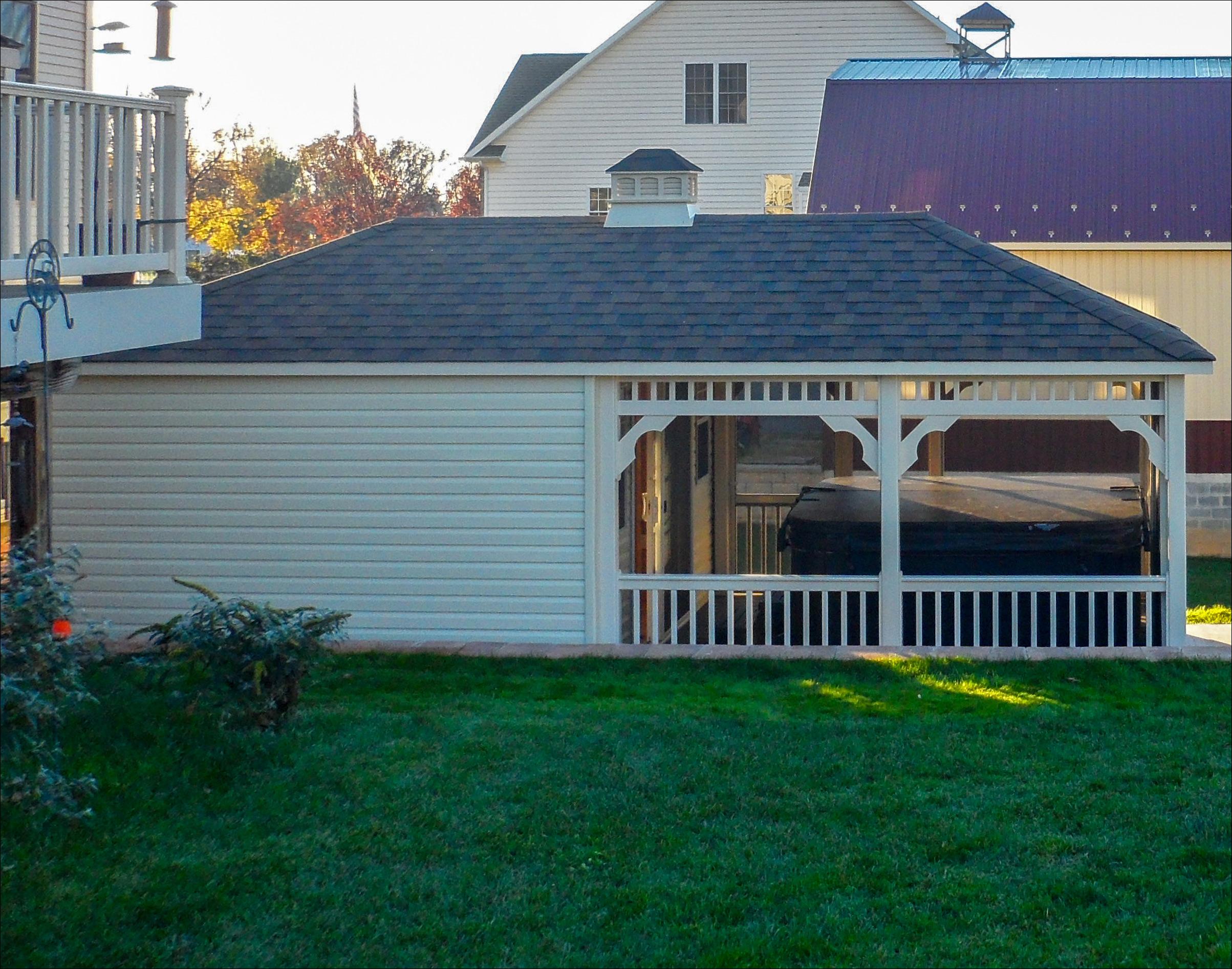Customer S Photo 12 X 24 Vinyl Pool House