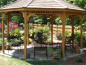 Gazebos With No Railings Gazebos By Available Options
