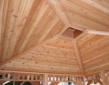 Cedar Tongue And Groove Ceiling