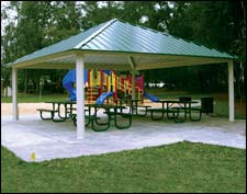 20' x 20' Forestview (Square) Pavilions | Pavilions by Size
