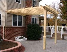 12 X 16 Treated Pine Pergolas Pergolas By Size