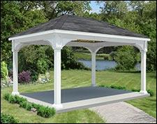14' x 20' Open Rectangle Pavilions | Pavilions by Size