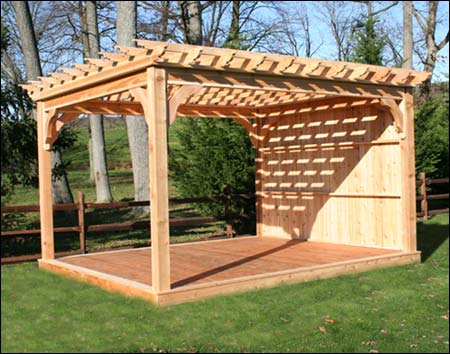red cedar belvedere pergolas pergolas by style. Black Bedroom Furniture Sets. Home Design Ideas