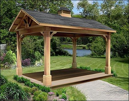 Red Cedar Gable Roof Ramadas Ramadas By Material