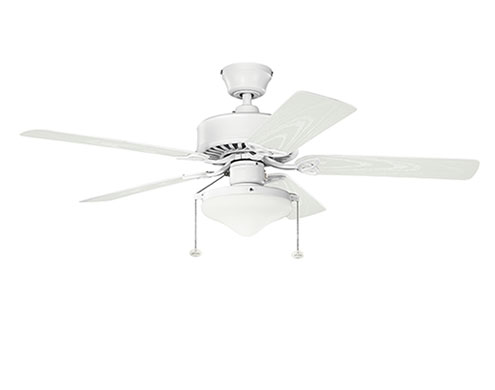 52 Matte White Refresh Select Patio Outdoor Ceiling Fan