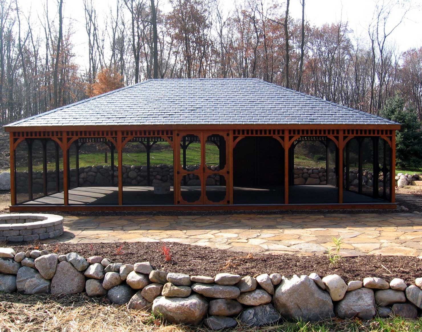 Treated Pine Single Roof Rectangle Gazebos Gazebos By Style Gazebocreations Com