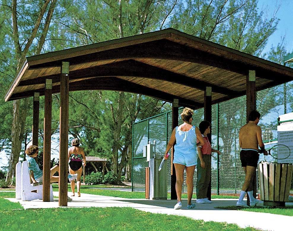 Wood single roof savannah rectangle pavilions for 20x20 carport plans