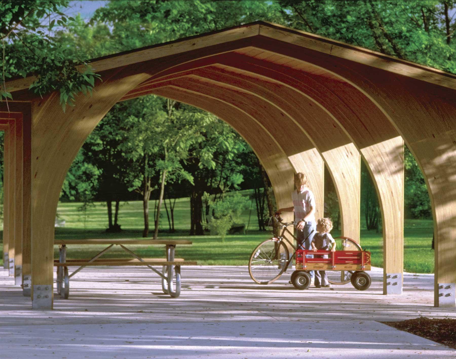 Wood Standard Phoenix Rectangle Pavilions Pavilions By