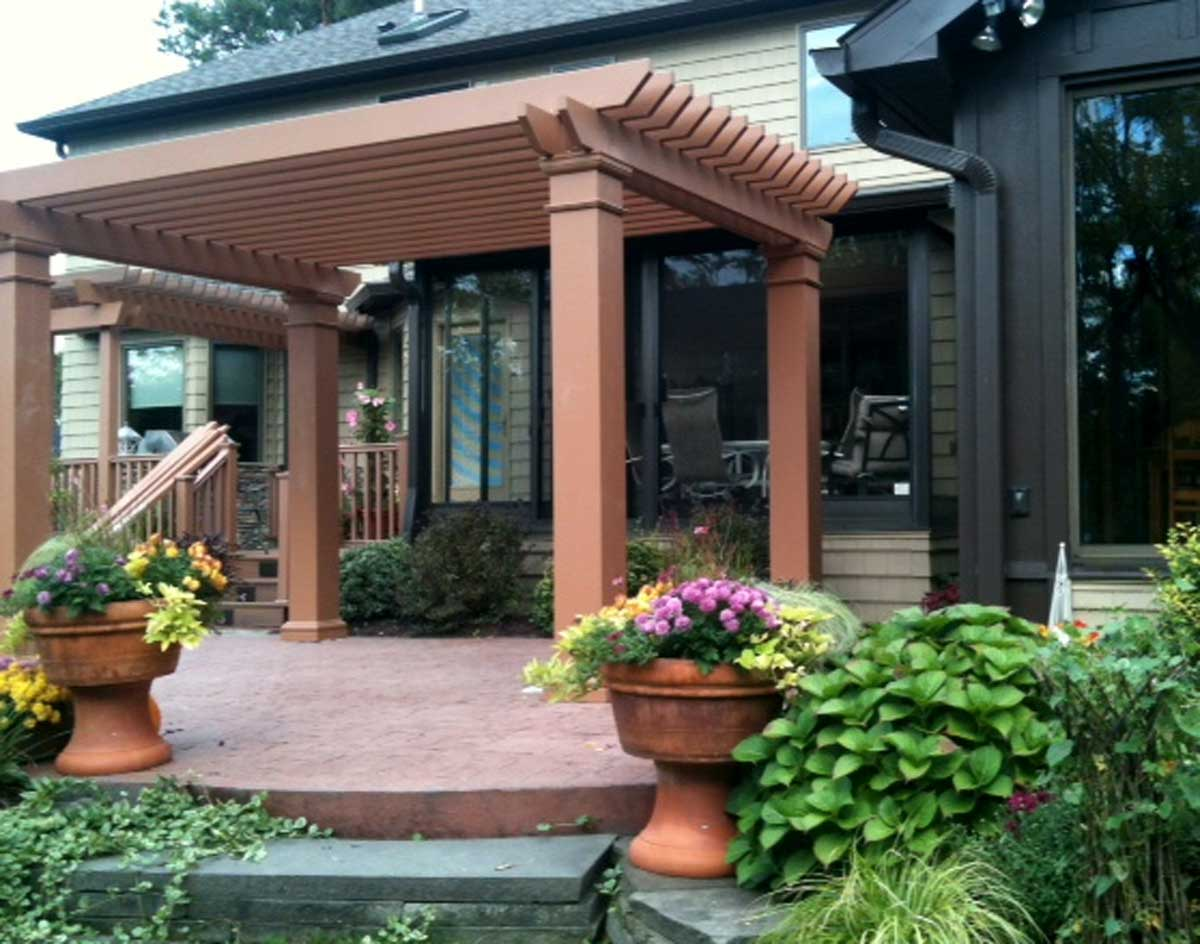 How to determine pergola rafter spacing ozco building products.