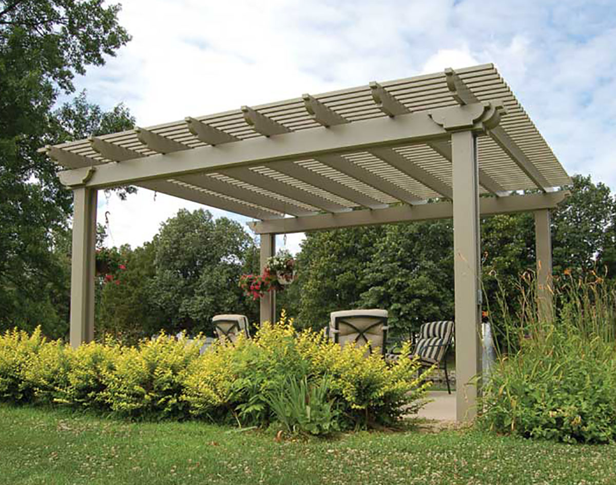 aluminum vintage classic free standing pergolas pergolas by material. Black Bedroom Furniture Sets. Home Design Ideas