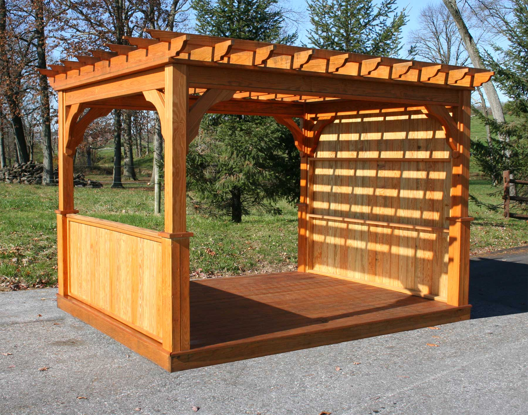 treated pine belvedere free standing pergolas pergolas by style. Black Bedroom Furniture Sets. Home Design Ideas