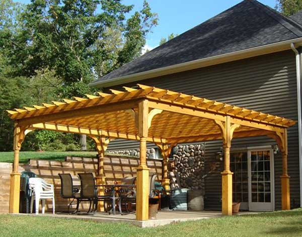 decorative pergola brackets project pdf download woodworkers source. Black Bedroom Furniture Sets. Home Design Ideas