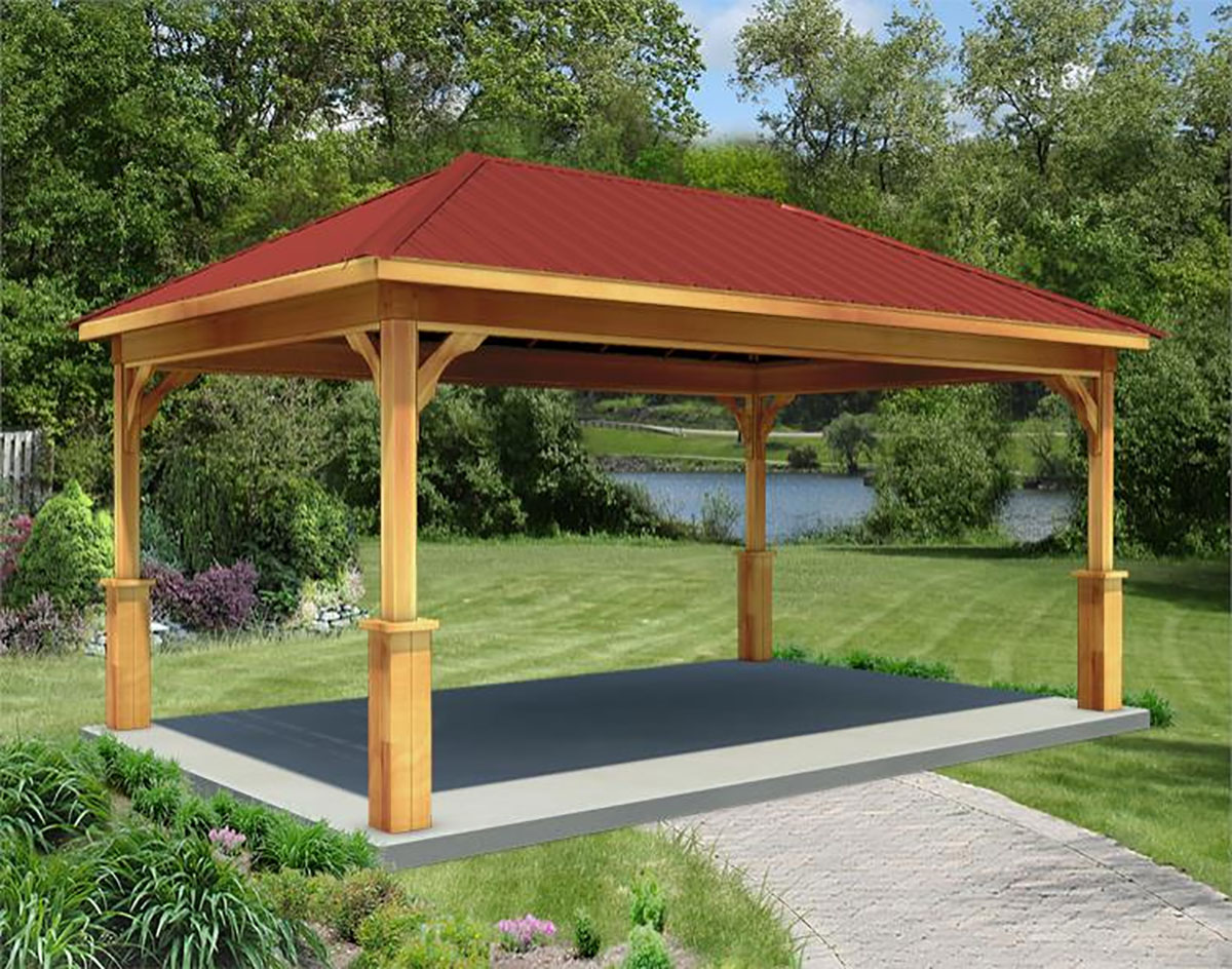 Gazebo With Clear Roof Tyres2c