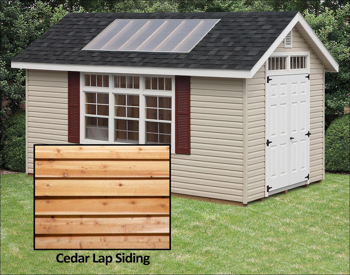 Cedar Lap Siding Potting Sheds Sheds By Siding