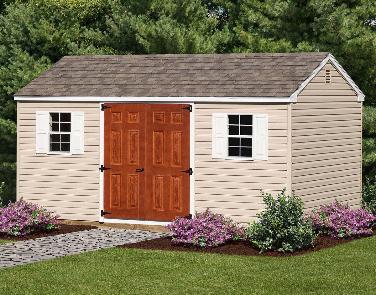 outdoor organization garages plastic tans depot n browns door b sheds home the storage vinyl lifetime shed double